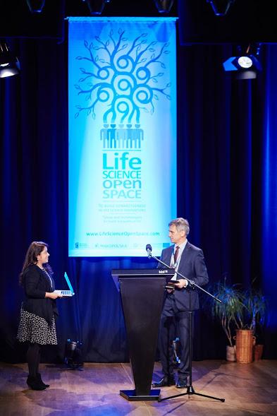Konferencja Life Science Open Space i Gala z okazji 10-lecia Klastra LifeScience Kraków. Kraków 20.10.2016.